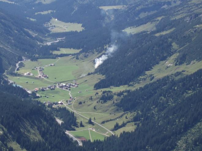 Rüfikopf Seilbahn Lech