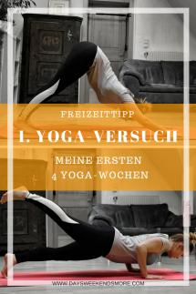 Freizeittipp für Zuhause_ Yoga ausprobieren! Wie es mir als Anfänger in meinen ersten 4 Wochen ergangen ist und was mir daran gefallen hat verrate ich hier.