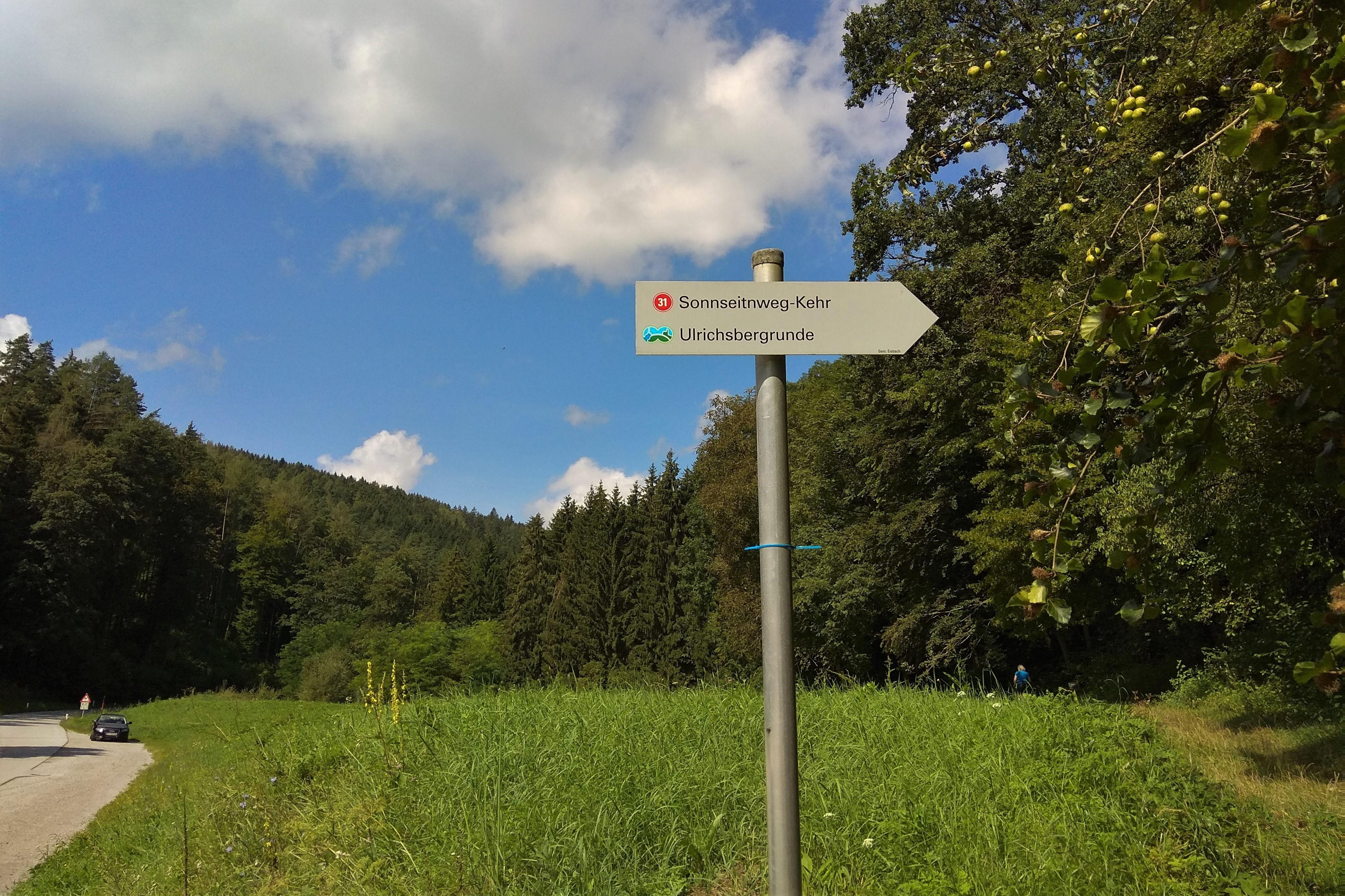 Startpunkt Wanderwege Rein