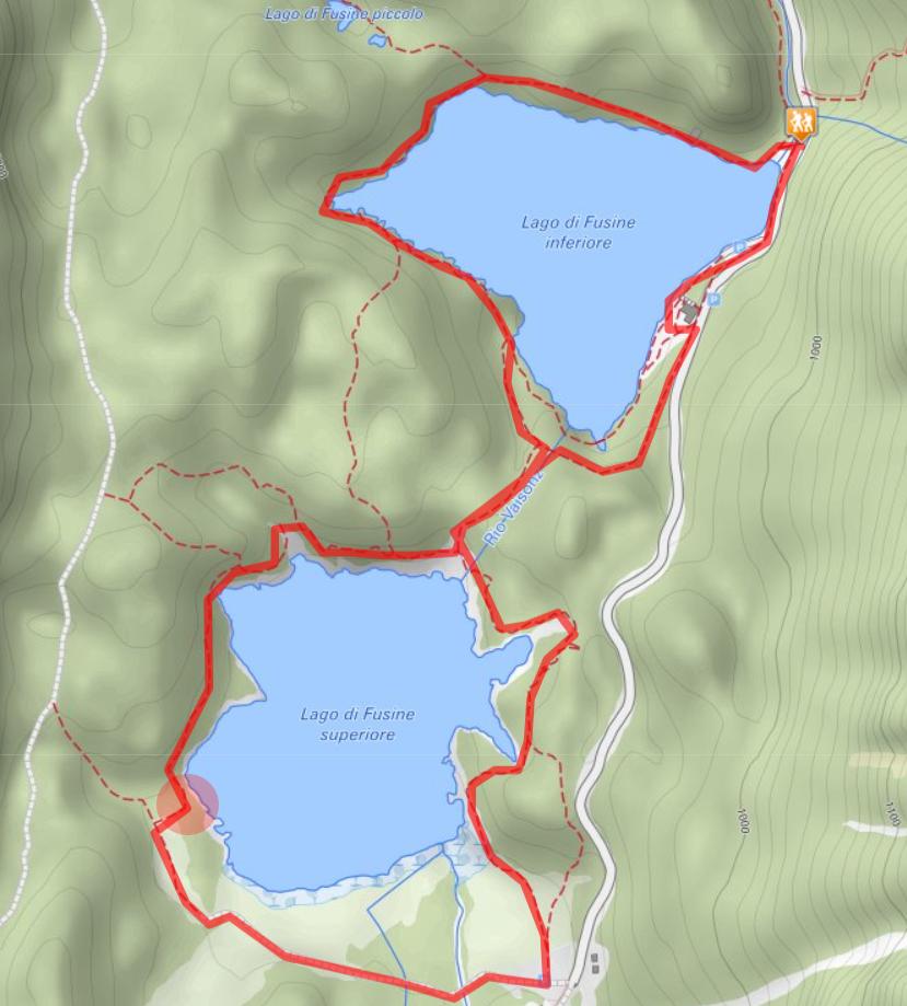 Route Laghi di Fusine