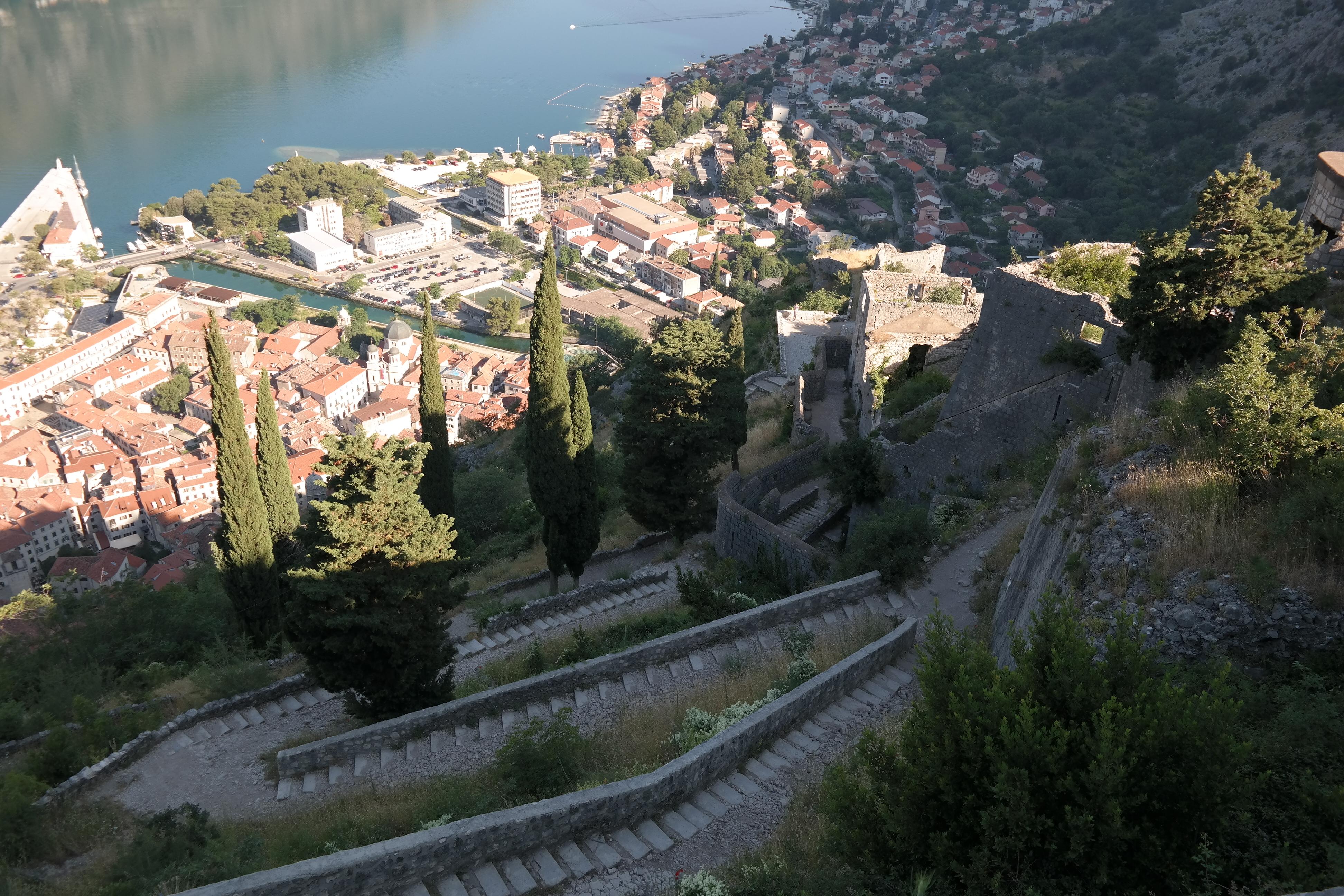 Festung von Kotor - Wanderung