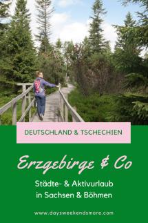 Stationen unseres Aktivurlaubs in Oberwiesenthal. Dresden, Nationalpark Sächsische Schweiz, Karlsbad, Regensburg & Vieles mehr!