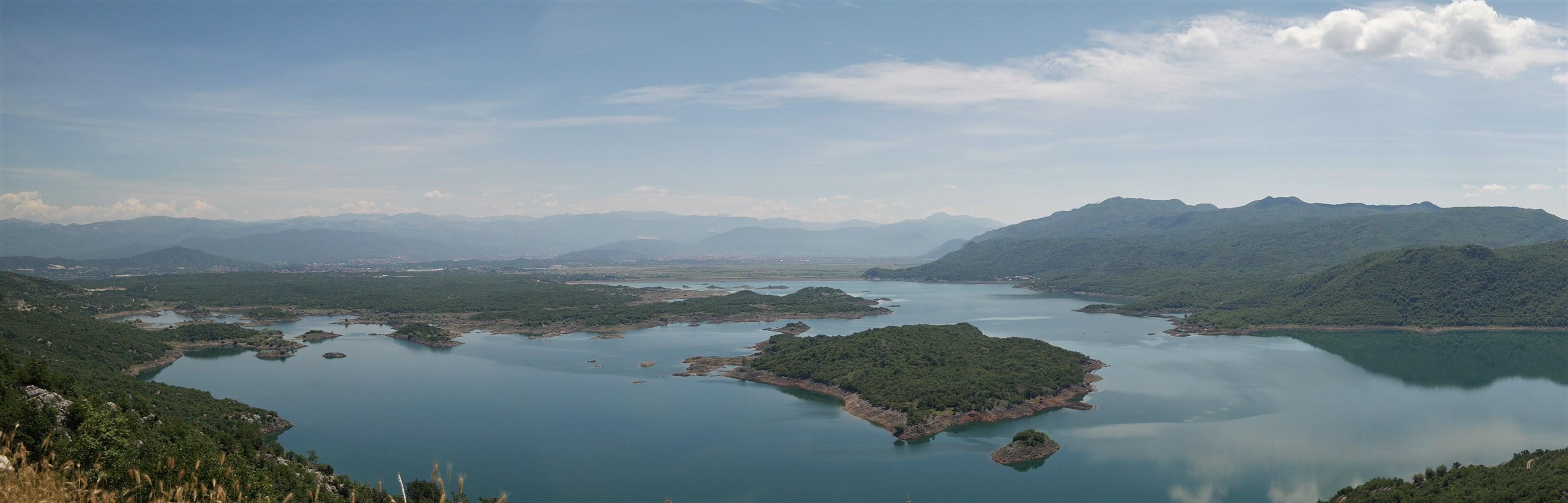 Blick auf den Slansko Jezero