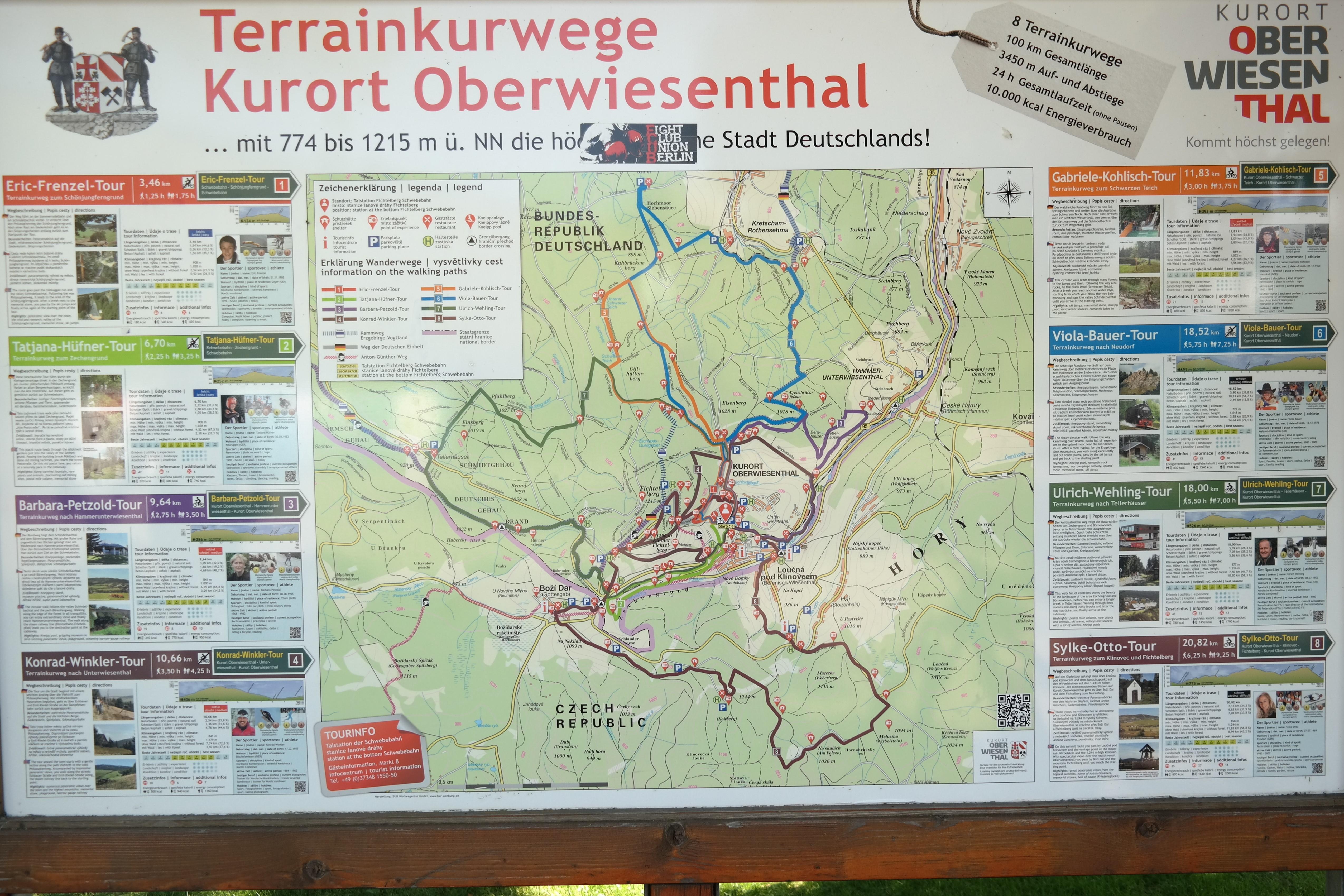 Wege Oberwiesenthal