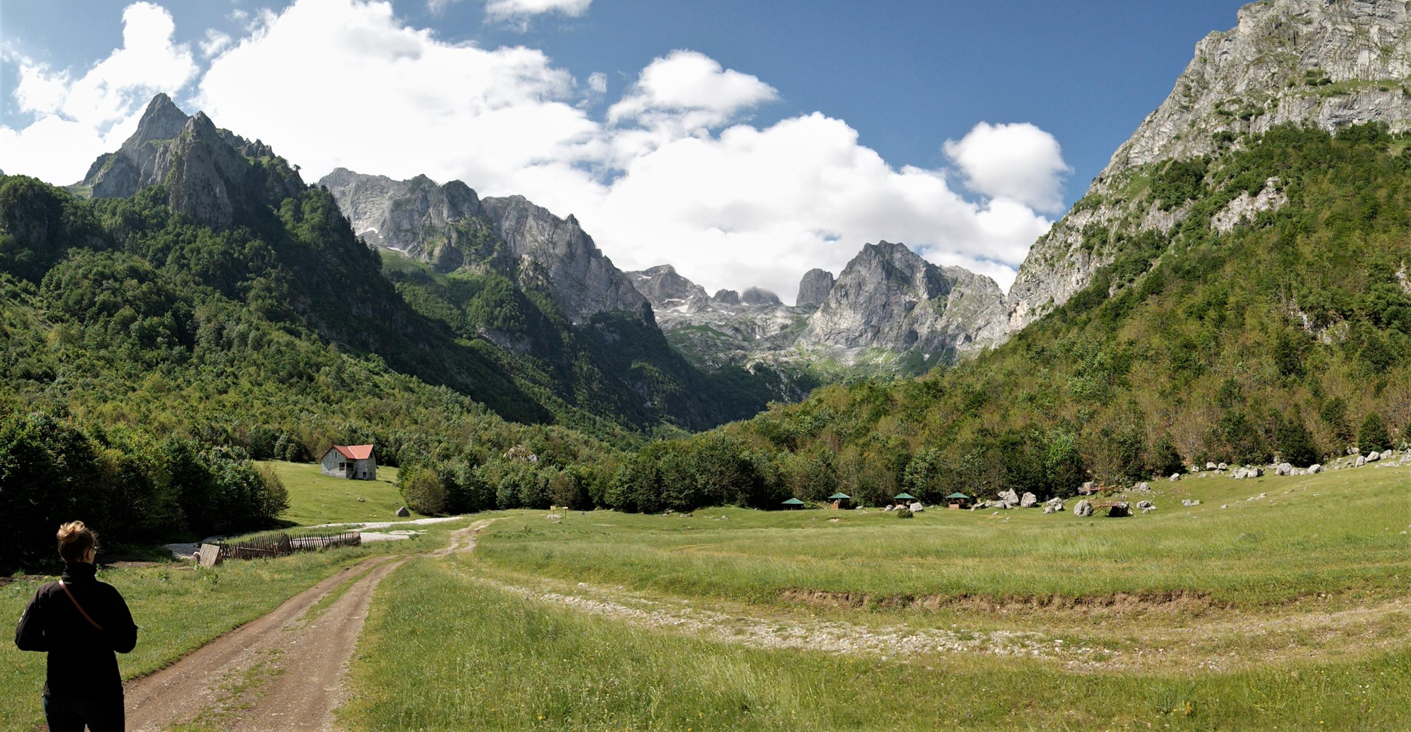 Grebaje Tal Prokletije Nationalpark