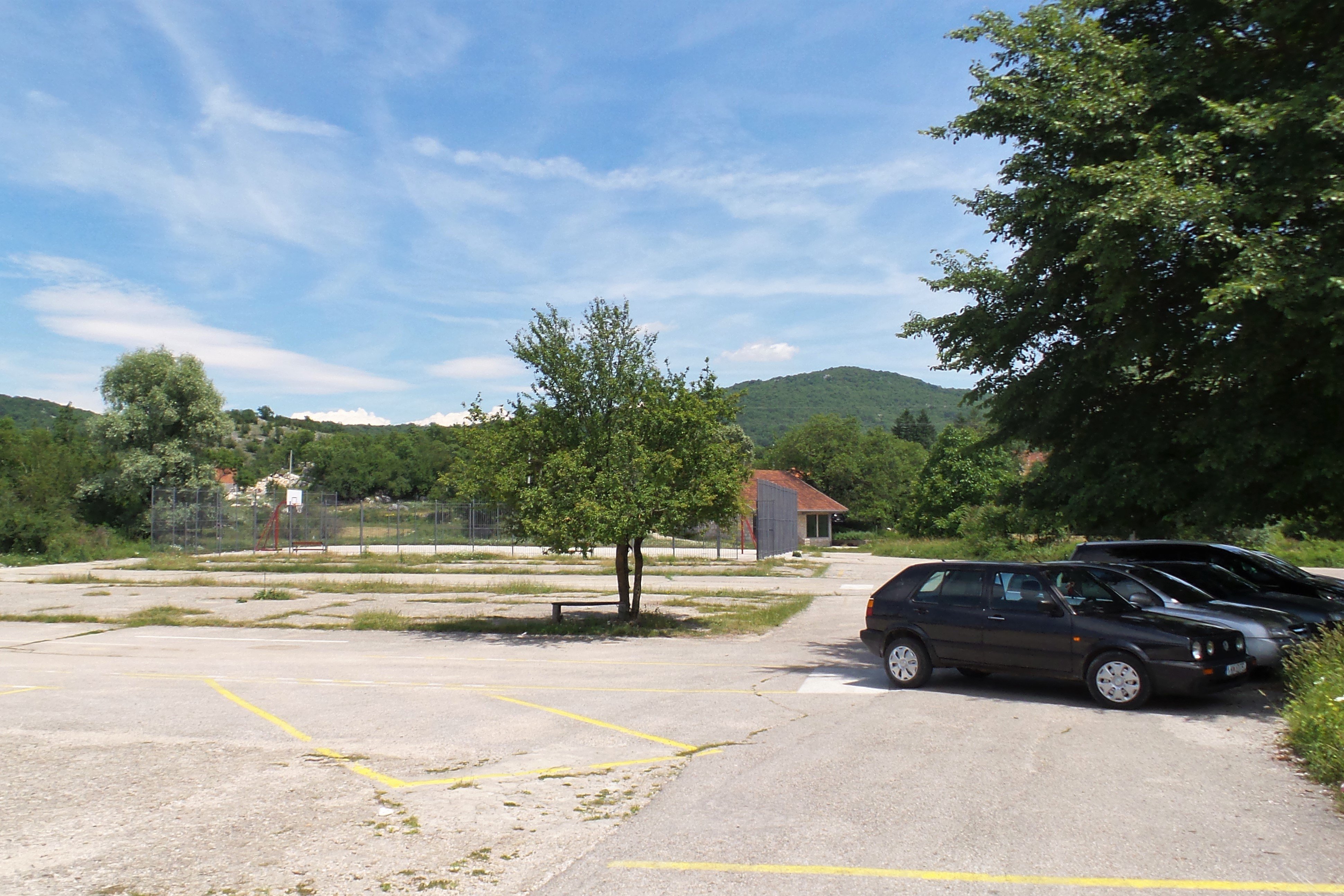 Parkplatz Krupac See