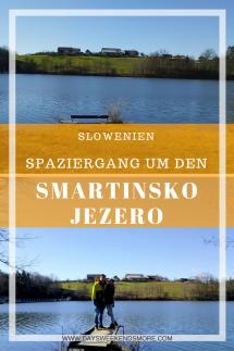Der Smartinsko jezero - einer der größten künstlich angelegten Seen Sloweniens - Ein gemütlicher Spaziergang