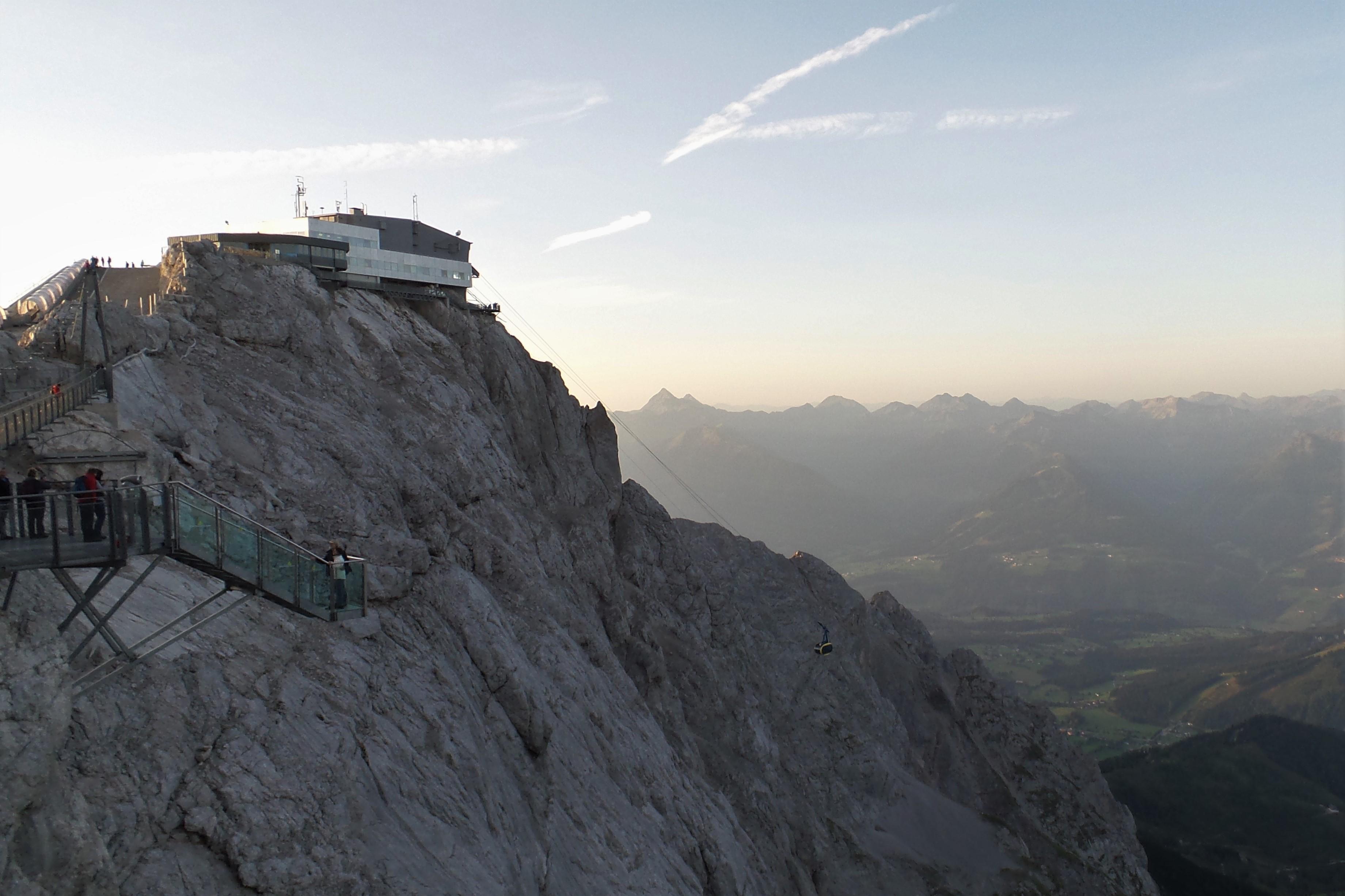 Ein Tag am Dachstein Gletscher