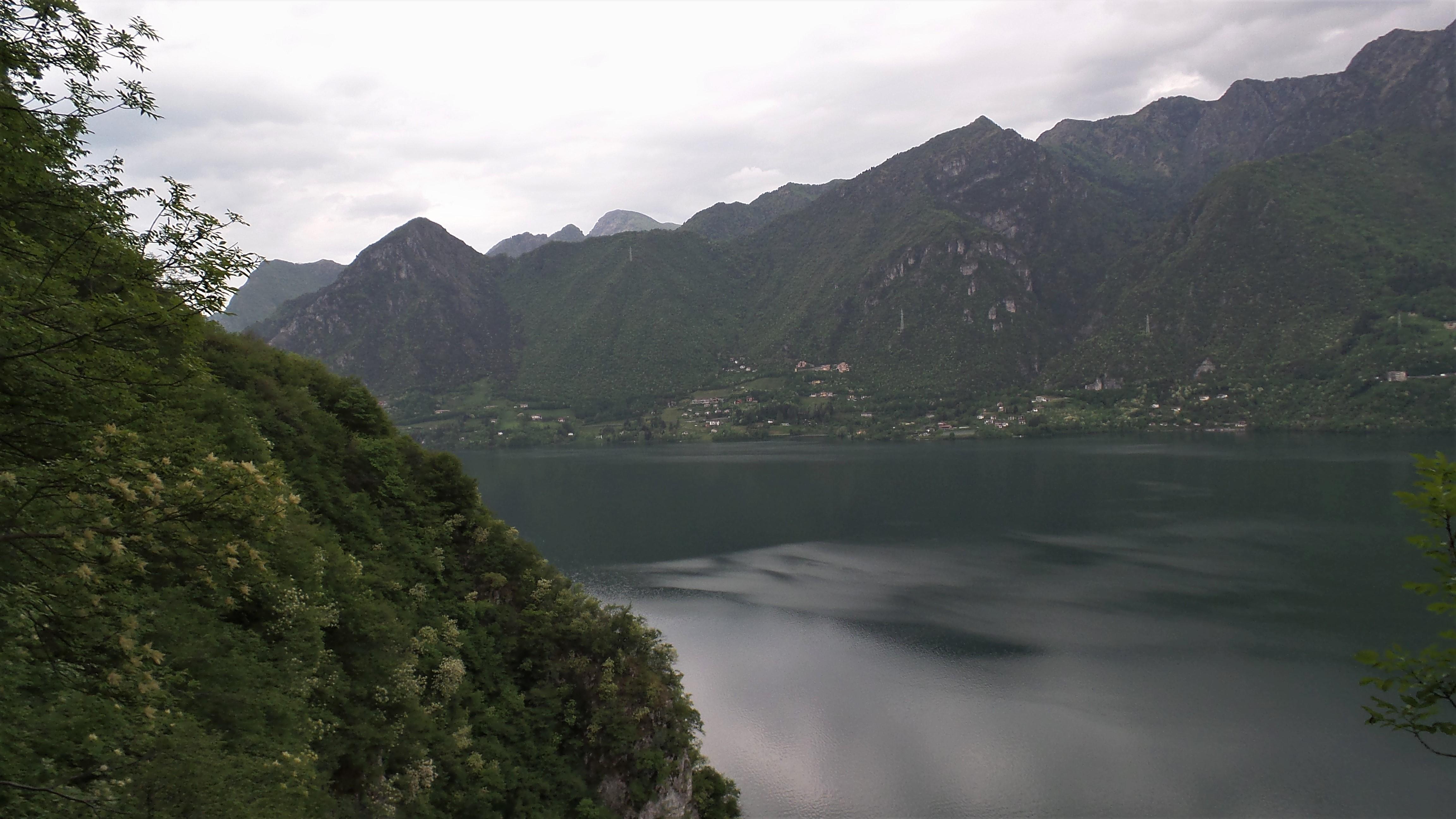 Idrosee, Klettersteig Sasse