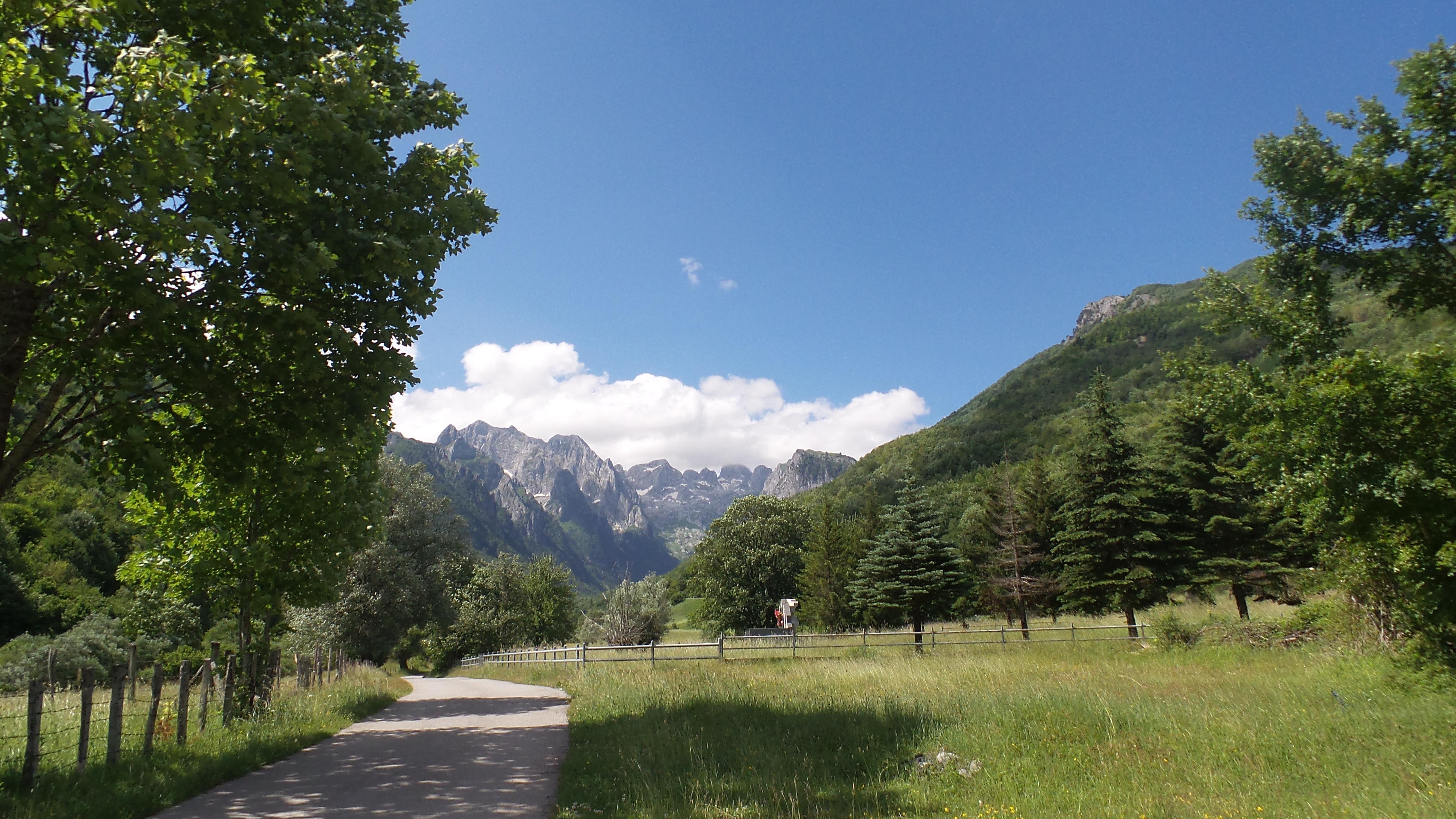 Radfahren im Prokletije Nationalpark