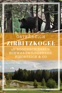 Bogenschiessen im Naturpark Zirbitzkogel-Grebenzen. Ein Familienwochenende auf der Alm. Schwarzwildgehege, Fischteich & Mehr
