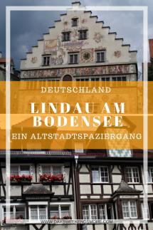 Lindau am Bodensee - ein Spaziergang durch die Altstadt und zum Hafen