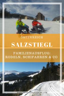 Winterausflug auf den Salzstiegl - ein Familienausflug für Groß & Klein.