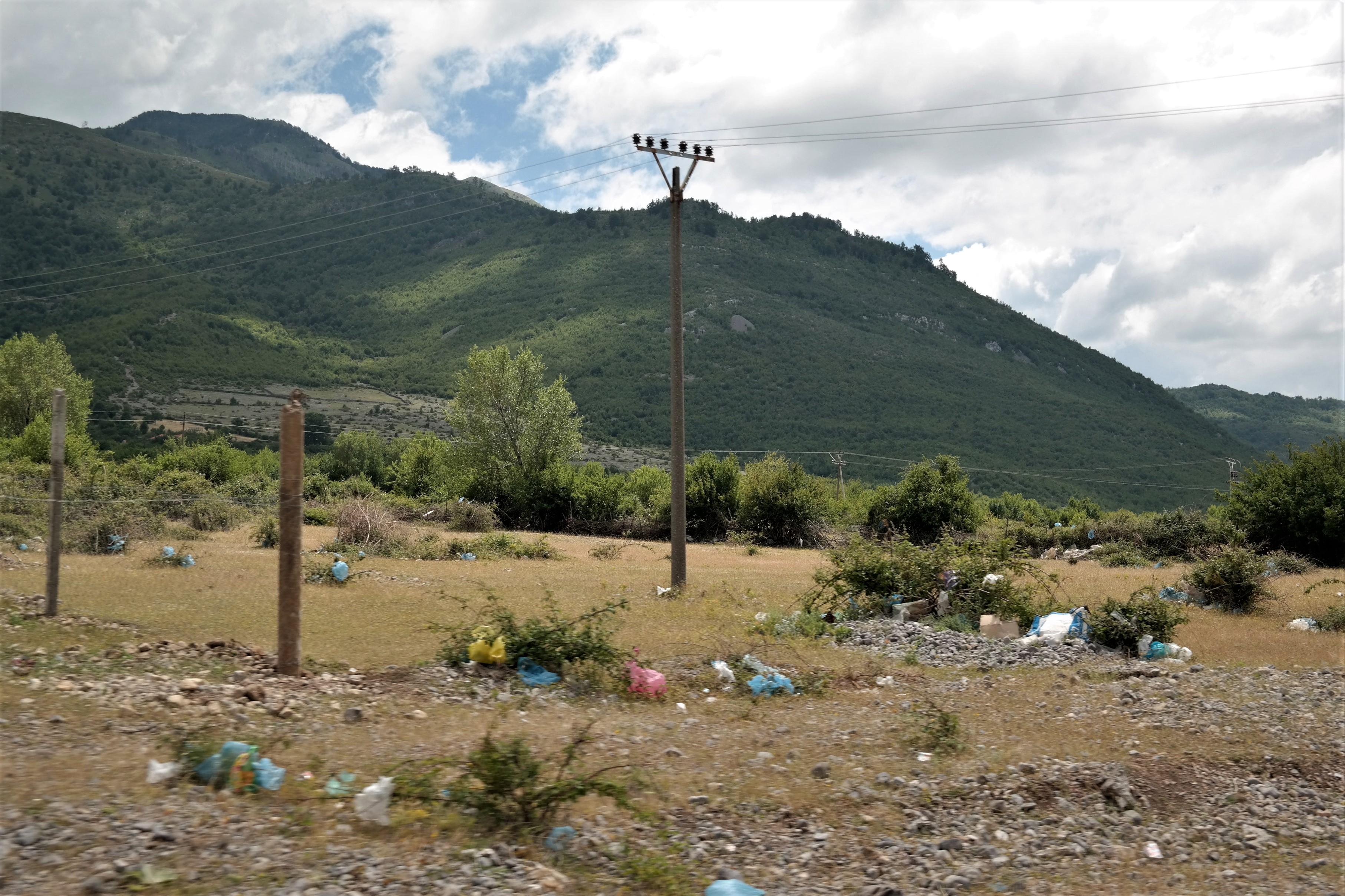 Müll in Albanien