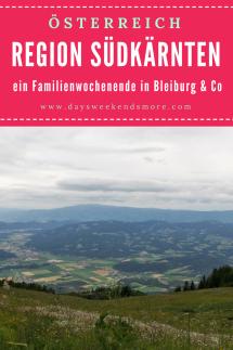 Ein Familienurlaub in Bleiburg in Südkärnten. Leider war das Wetter nicht besonders gut, trotzdem haben wir einiges erleben können.