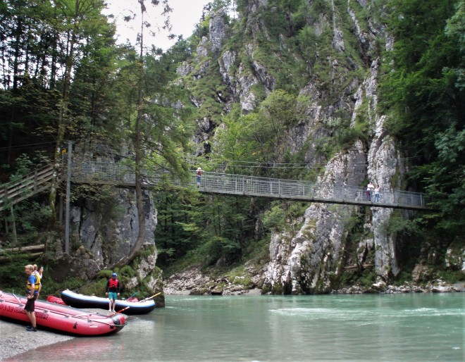 Rafting Tiroler Großache