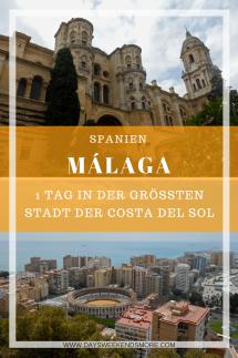 Ein Tag in Málaga - Tagesausflug von Torremolinos
