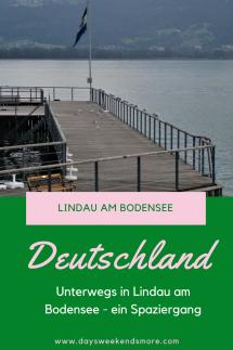 Lindau am Bodensee - ein Spaziergang durch die Altstadt und zum Hafen zum Nachmachen