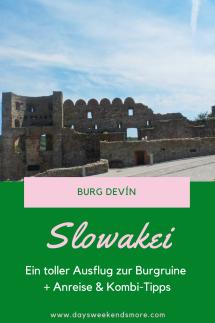 Ein Ausflug zur Burg Devín in der Slowakei - Von Bratislava oder von Wien