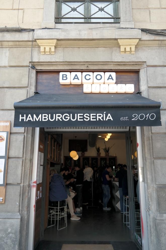 Hamburguesería Barcelona