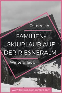 Winterurlaub auf der Riesneralm. Skifahren in der Steiermark.