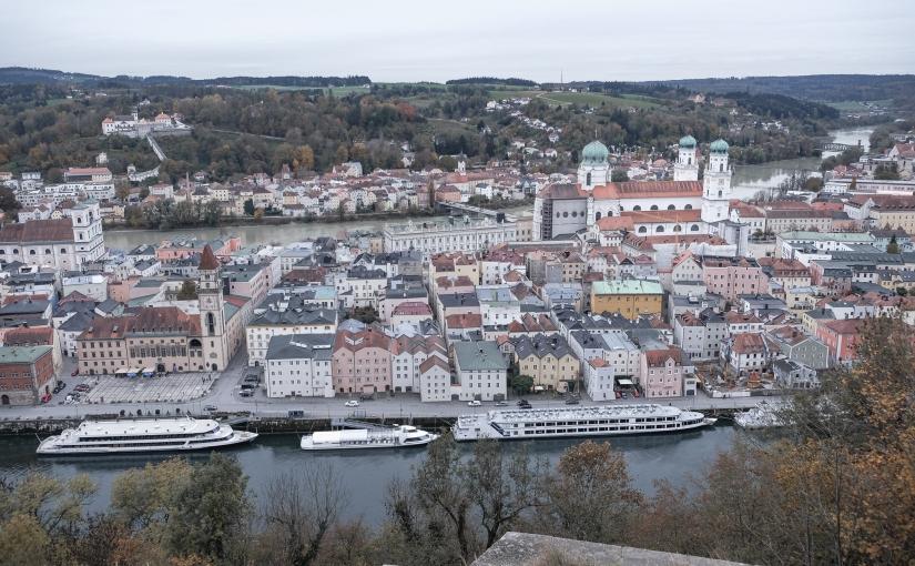 Stadtspaziergang durch Passau – Dreiflüssestadt mitHund
