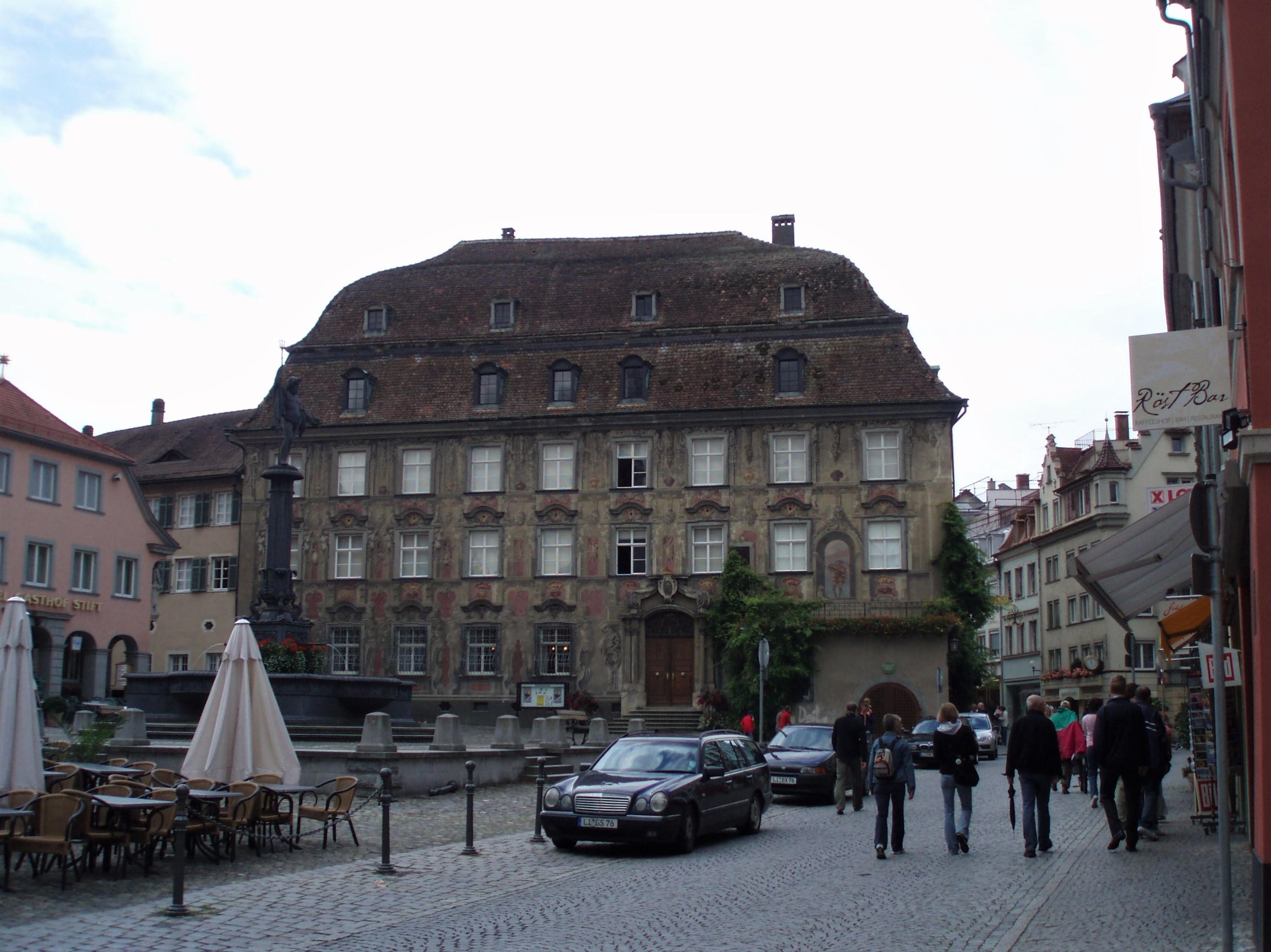 Marktpatz in Lindau