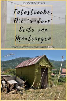 Hinterhöfe, zerfallene & verlassene Häuser - aber auch Müll. Das etwas _andere_ Montenegro.