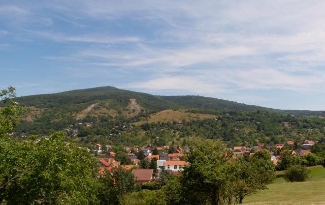 Ausblick Burg Devín
