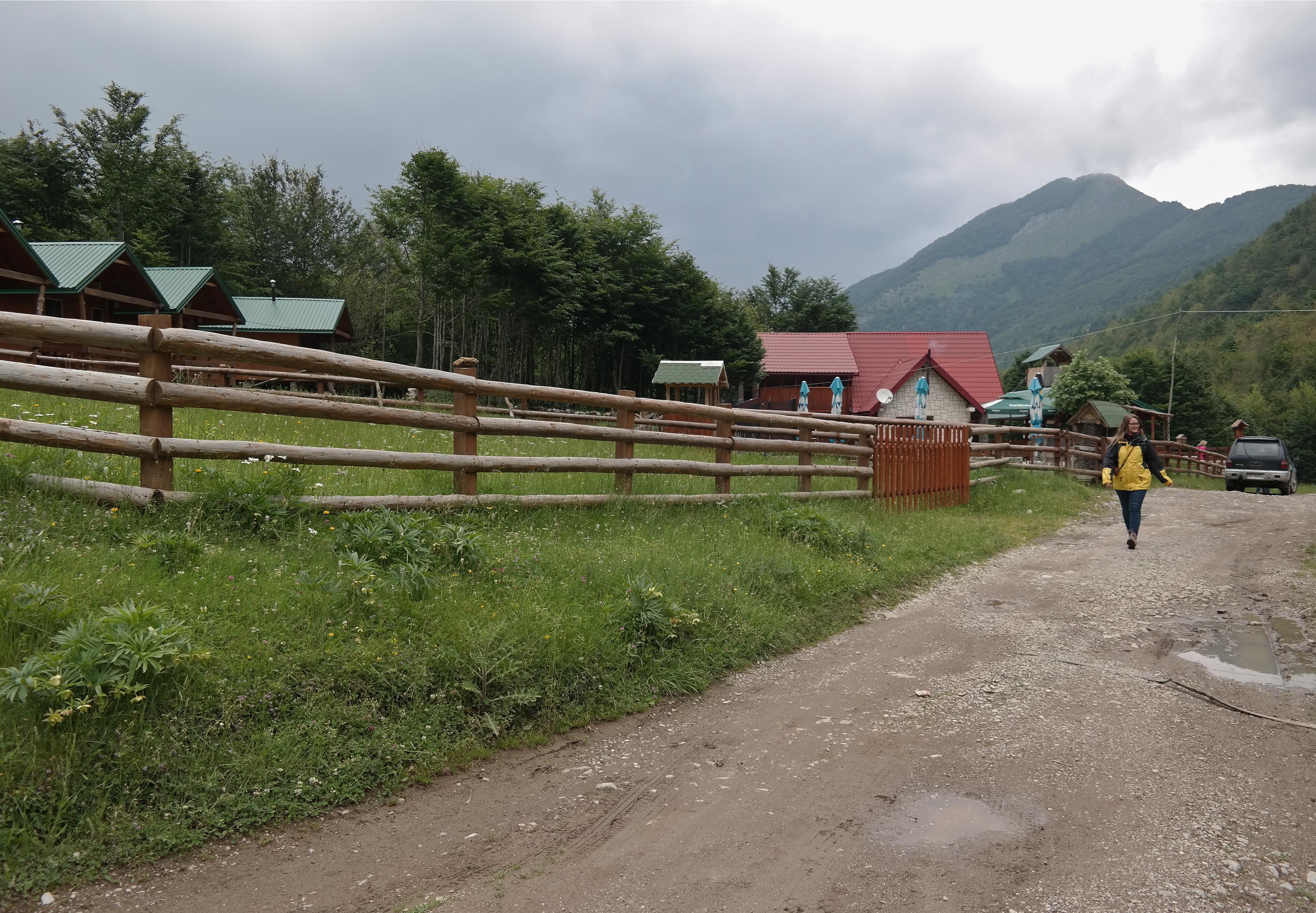 Unterkunft Prokletije Nationalpark