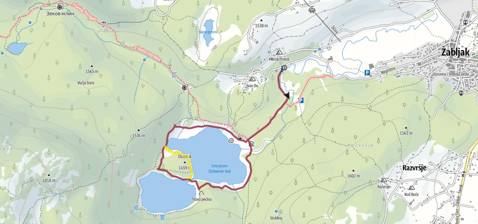 Crno Jezero Tour +