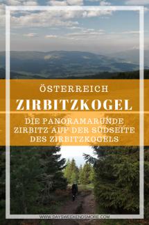 Naturpark Zirbitzkogel-Grebenzen. Die einfache Panoramarunde Zirbitz auf der Südseite des Zirbitzkogels.