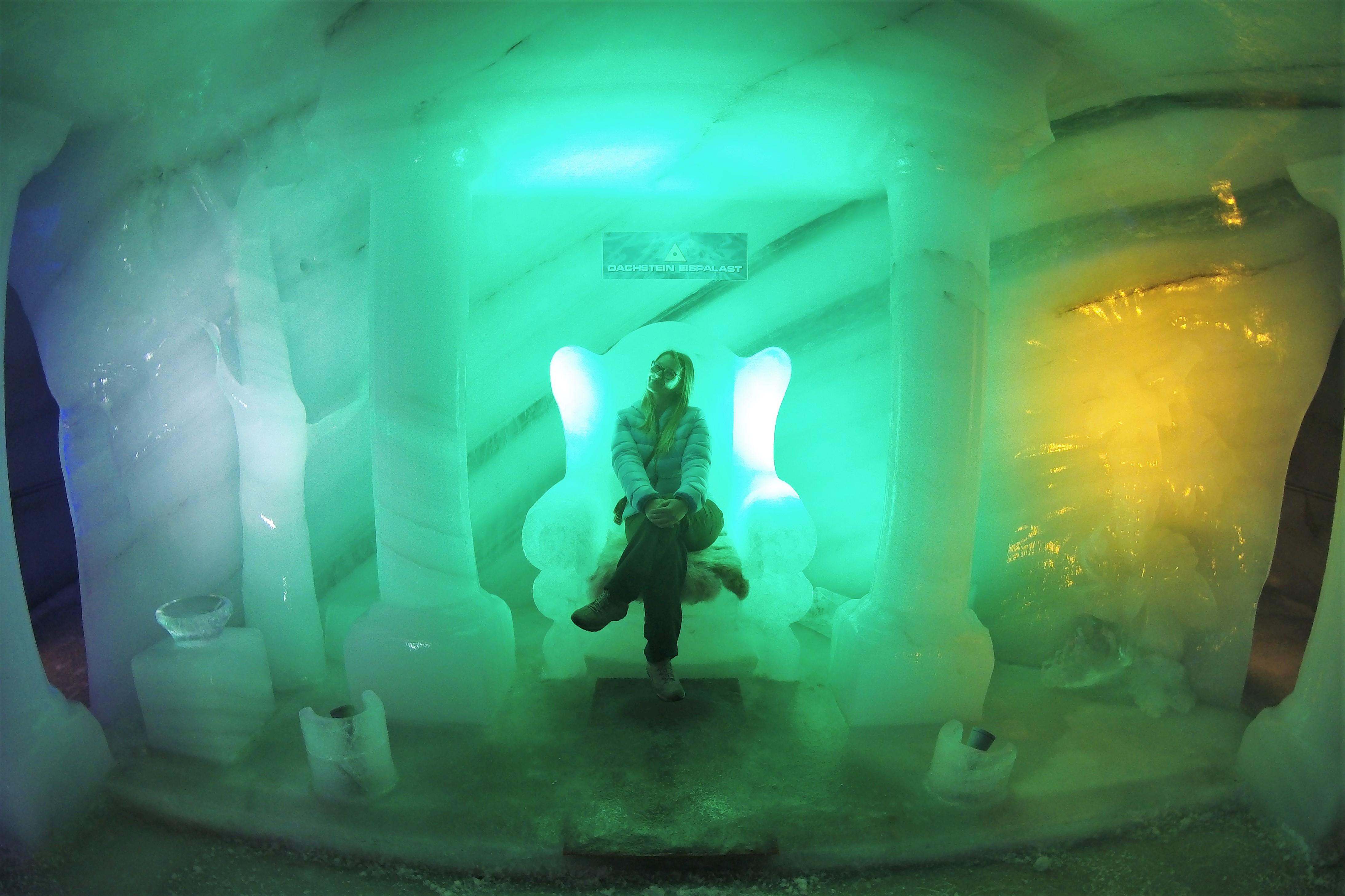 Eispalast Dachstein Gletscher