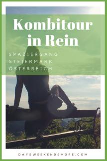Spazieren in Rein, nördlich von Graz in der Steiermark - eine tolle Kombitour in Rein.
